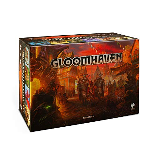 Cephalofair Games Gloomhaven Multi-Award-Winning Strategy Boxed Board Game for ages 12 & Up, Multicolor