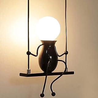 Lampe Murale Moderne, Humanoïde Créatif Lampe Murale, E27 LED Applique Murale Lampe pour Chambre, Chevet, Escalier, Couloi...