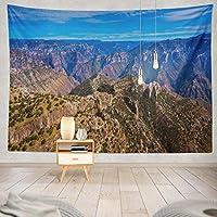 ANLAI チワワ山脈壁掛けタペストリー ンンド 壁飾り 家 リビングルーム ベッドルーム 部屋 おしゃれ飾り 150cm x 100cm