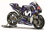 マイスト 1/18 ヤマハ YZR-M1 MotoGP GP18 マーベリック ビニャーレス Maisto 1:18 Yamaha YZR-M1 2018 MotoGP GP18#25 Maverick Vinales オートバイ Motorcycle バイク Bike Model ロードバイク