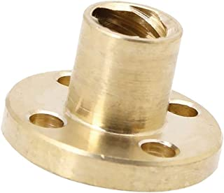 Robocraze 8mm Pitch 2mm 4 Start T Type Lead Screw Nut Copper Nut for Reprap 3D Printer CNC Parts (1 Piece) | 3D Printer Pr...