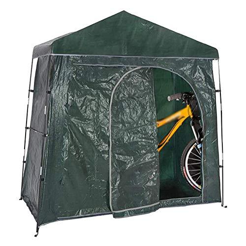 JTYX Carpa para Bicicletas Cobertizo para Almacenamiento de Bicicletas al Aire Libre Que Ahorra Espacio, Carpa portátil para Almacenamiento de jardín de Motocicletas