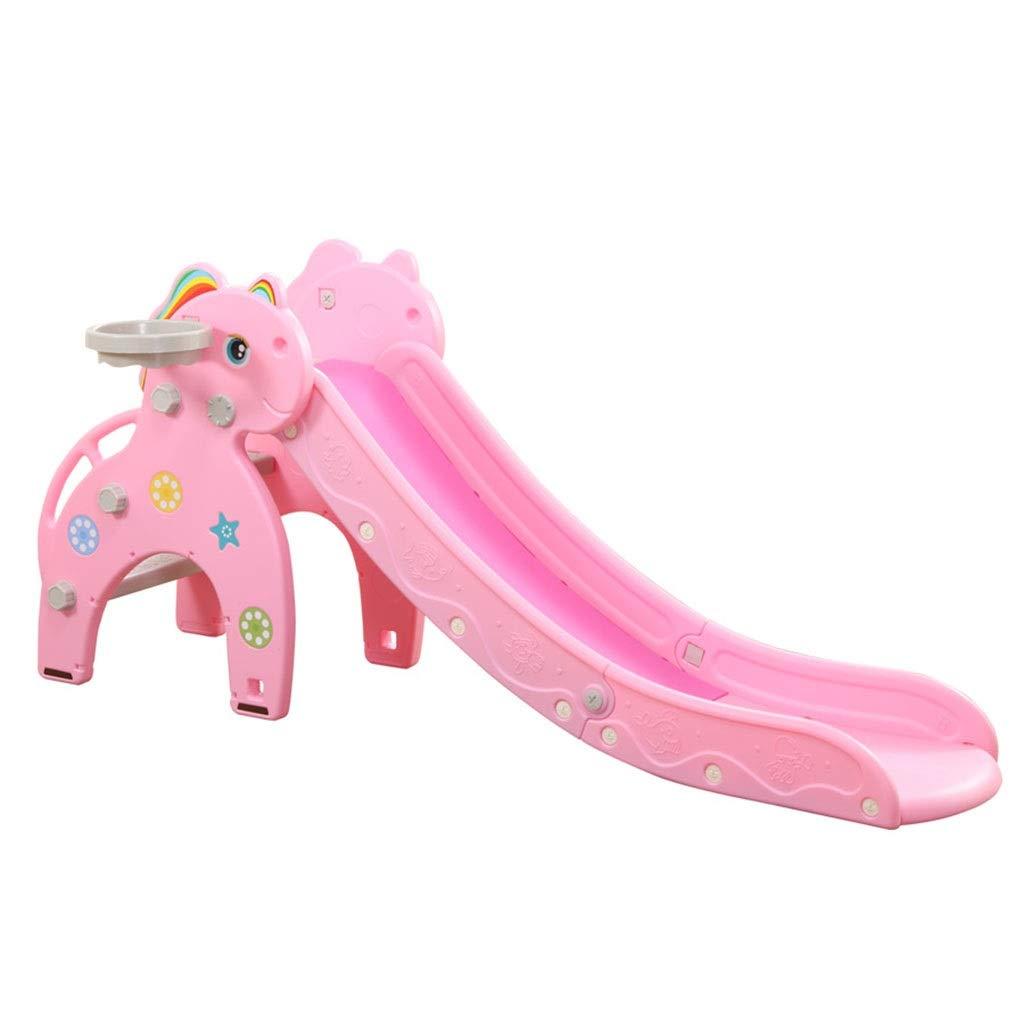 Tobogán Infantil Parque Infantil Escalera De Ejercicios para Niños Juguete Deslizante Plegable Regalo De Cumpleaños para Bebés De 1-10 Años (Color : Pink, Size : 180 * 81cm): Amazon.es: Hogar