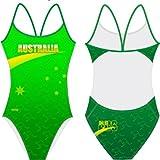 Zoom IMG-1 swimmerwear costume allenamento donna openback