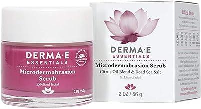DERMA E Microdermabrasion Dead Sea Salt Scrub, 2oz