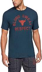 Under Armour Camiseta Manga Corta Hombre Blood Sweat Respect