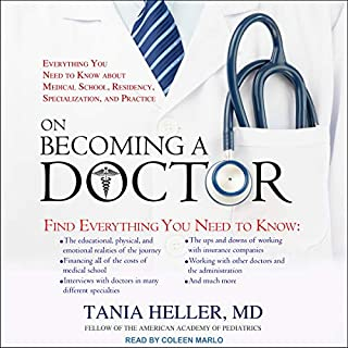 On Becoming a Doctor audiobook cover art