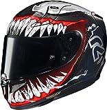 HJC NC Casco per Moto, Hombre, Negro/Rojo, XS