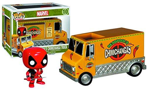 Funko POP! Marvel: X-men: Deadpool con camión