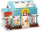 XINZ-BYT Jouet DIY Dollhouse Toy Store Modèle Mini Mini Meubles de Simulation avec Lampes à LED et Housse de poussière, etc. Collectionnables Accueil Décorations Modèle de Jouet