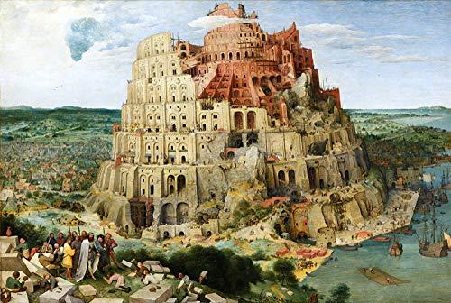 Rompecabezas para Adultos 5000 Piezas Torre de Babel Tongtian Tower Juego de Rompecabezas de Madera para Adultos Juego de Rompecabezas para jóvenes Juguete de Regalo