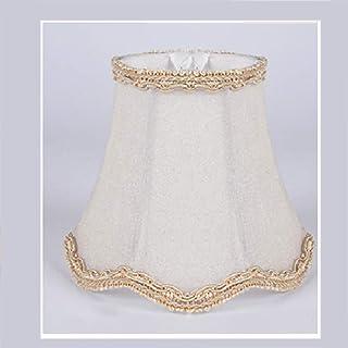 Pantalla para lámpara de araña con forma de gota con forma de onda, lámpara de techo, estilo europeo moderno, tela para vela, bombilla de pared, lámpara de mesa (24#)
