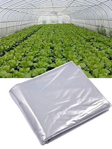 Kitabetty Cubierta de Repuesto para Invernadero, Túnel polivinílico para jardín con Cubierta para Plantas de Invernadero, Película de plástico para Invernadero, Duradero Resistente a la corrosión