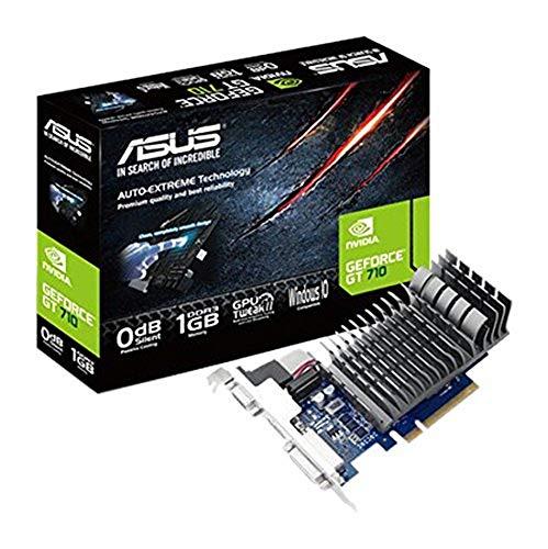 ASUS GT 710 1GB DDR3 64bit Dual Slot, Passive Low Profile Graphics Cards 710-1-SL