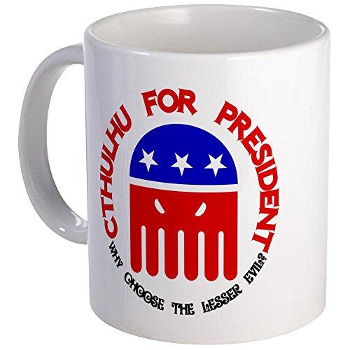 CafePress Cthulhu For President Mug Unique Coffee Mug, Coffee Cup