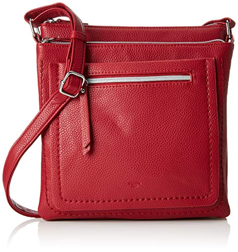 TOM TAILOR Damen Taschen & Geldbörsen Umhängetasche Becky red,OneSize