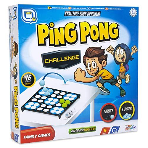 Games Hub Ping Pong Herausforderungsspiel Mehrfarben