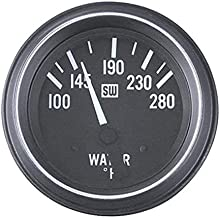 Stewart Warner 284J 2-1/16 Heavy Duty Electric Water Temperature Gauge