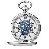 Reloj de Bolsillo mecánico con Calavera...