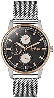 Lee Cooper Women's Analog Rose Gold Case Two Tone Rose Gold Super Metal Strap MOP White Dial -LC06560.520