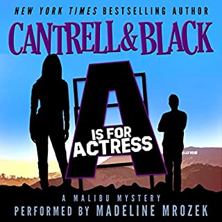 """A"" is for Actress (Malibu Mystery Book 1) cover art"