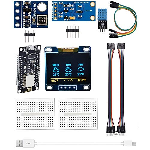 Umidità Sensore Di Pressione Modulo Kit Temperatura Pressione Umidità Atmosferica Sensore Esp8266 Stazione Meteo Modulo Kit Solderless