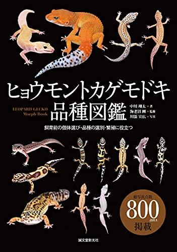 ヒョウモントカゲモドキ品種図鑑: 飼育前の個体選び・品種の選別・繁殖に役立つ