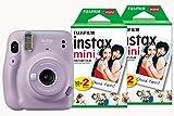 Fujifilm Instax Mini 11 Instant Camera including 40 Shots - Lilac Purple
