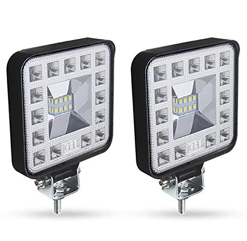 WSCHENG Coche LED Light Light COB Chips 69 Watts DC 12/24 Volts 6500k Iluminación de inundación de Mancha Blanca para Bombillas AUTOMÁTICAS DE FSO (Color : 69W 2pcs)