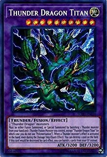 Yu-Gi-Oh! - Thunder Dragon Titan - SOFU-EN036 - Soul Fusion - Unlimited Edition - Secret Rare