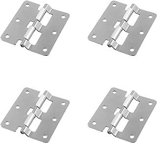 TCH Hardware 4 Pack Large Steel Take Apart Hinges - Lift Off Hinge Removable Hinge for Flight Case Cabinet Door Lid