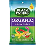 Black Forest Organic Gummy Worms, 4 Ounce,...