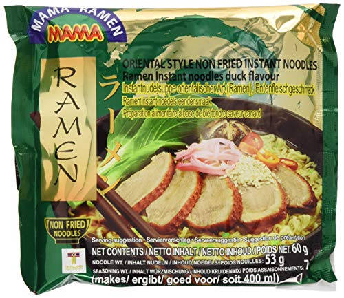 Mama Instant Chinesische Nudeln Ente 60g, 45er Pack (45 x 60 g)