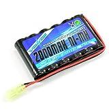 Pack NIMH 7.2V 2000mAh Mini Tamiya