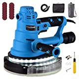 Ginelson 750W Plaster Sander, Drywall Sander, Classic Detachable Edge, Sander with LED Light, 13 Pcs 180mm Sanding Disc, With Dust Hose and Dust Bag