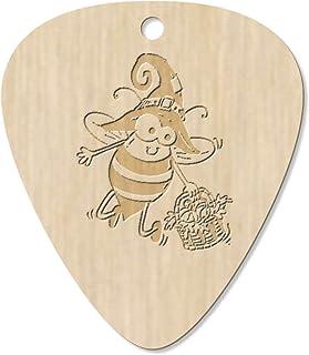 7 x 'Halloween Bee' Guitar Picks / Pendants (GP00023596)