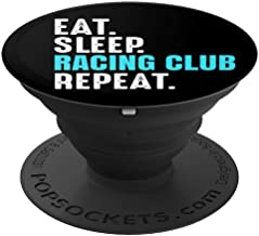 Racing Club Gift Eat Sleep Repeat Soccer Argentina PopSockets Grip and Stand for Phones and Tablets
