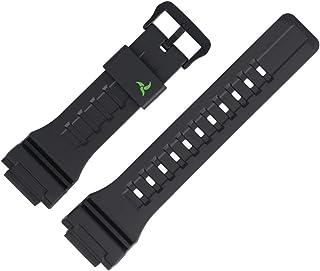 Casio Bracelet de Montre 27mm Plastique Noir STL-S100H