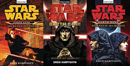 Star Wars™, Darth Bane, Band 1,2,3 (Star Wars™ Darth Bane)