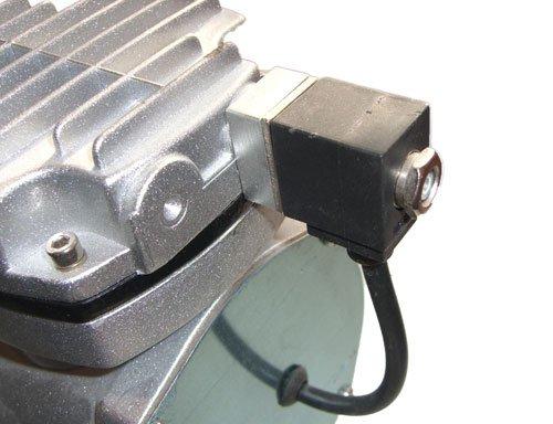 Reserveonderdeel compressoren: elektromagnetisch drukventiel.