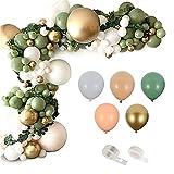 Globos de oro 152pcs globos guirnalda de látex oloquex arco feliz cumpleaños fiesta decoración niños adulto boda boda baloon cadena bebé ducha balón látex globo arco kit y guirnalda kit por fengl cuar