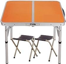 DX opvouwbare kampeertafel, aluminium opvouwbare picknick tafel eenvoudige studietafel installatie snel vouwen, snel drage...