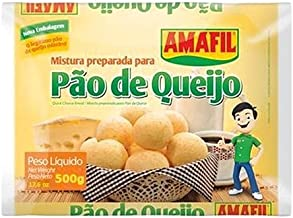 Cheese Bread Mix Amafil - 17.6 oz | Mistura para Pão de Queijo Amafil - 500g