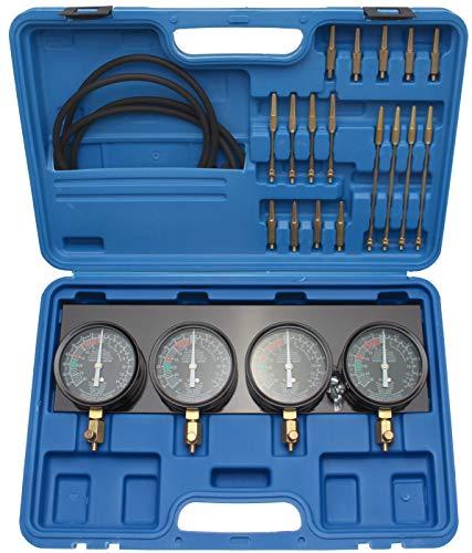 BGS 62670 | Synchron-Vergaser-Testgerät | mit 4 Synchronuhren | 29-tlg.