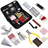 Complete Guitar Accessories Repair and Maintenance Kit, Guitar Repair Tool Kit, Guitar Maintenance Kit with Convenient Case, Perfect Gift for Music or String Instrument Enthusiast