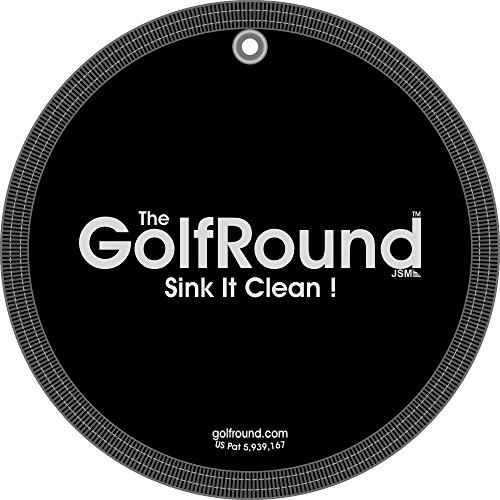 GolfRound Towel Pocket Golf Ball Cleaner