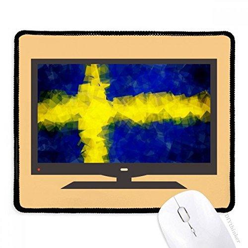 le résumé pavillon modèle suédois tapis de souris souris bureau caoutchouc antidérapant.