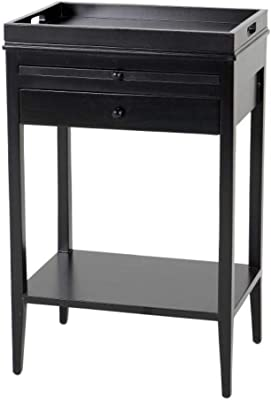Amazon Com Winsome Wood Claire Accent Table Black