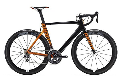 Giant Propel Advanced Pro 1 28 Zoll Rennrad Schwarz/Orange (2016), 50