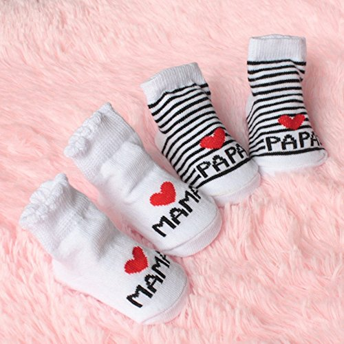 Outstanding® Lindo Calcetines de bebé Unisex del niño